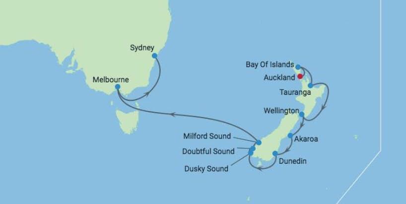 New Zealand Kor Selv Ferie 15 Dage Med Store Naturoplevelser