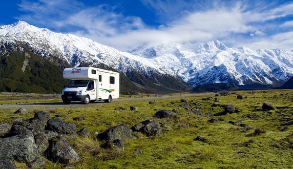 New Zealand camper Apollo Euro Camper