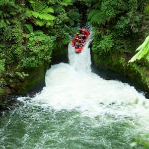 New Zealand udflugt rafting
