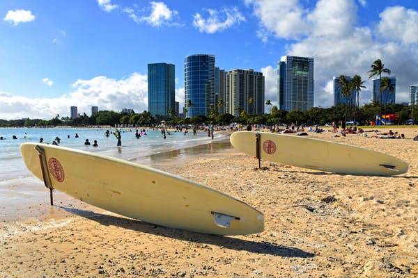 storbyer i usa Honolulu