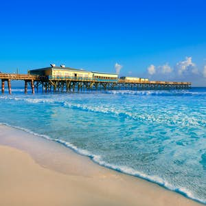 hvor er det varmt i februar florida daytona beach