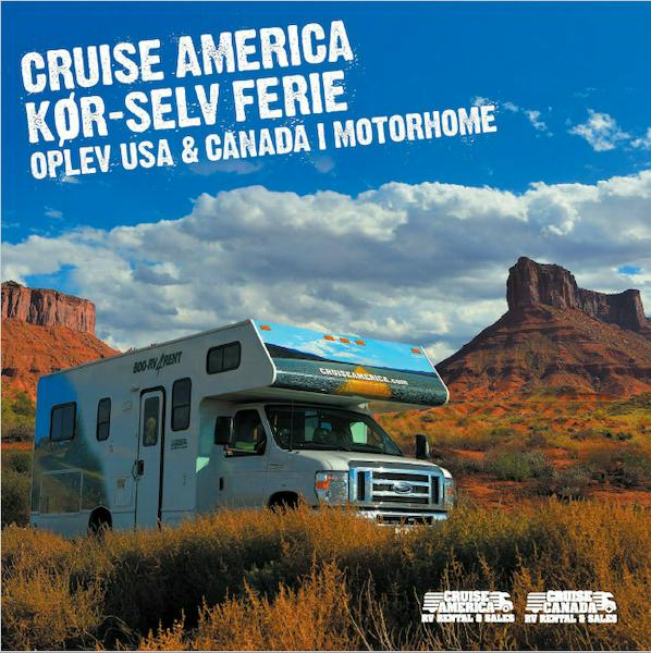 Motorhome i USA Cruise America