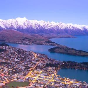 hvor er det varmt i februar new zealand queenstown