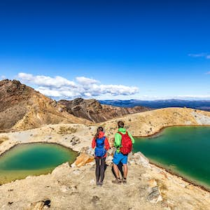 hvor er det varmt i februar new zealand tongariro crossing