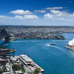 hvor er det varmt i februar australien sydney