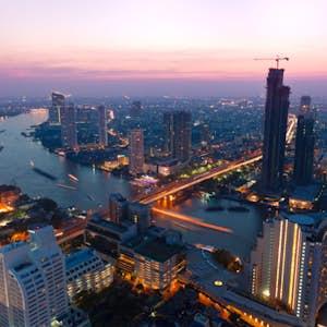 hvor er det varmt i februar bangkok thailand