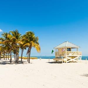 hvor er det varmt i februar florida miami