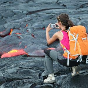 hvor er det varmt i februar hawaii vulkan