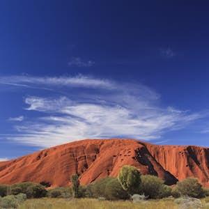 hvor er det varmt i februar australien ayers rock