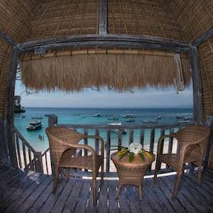hvor skal man bo på bali hai taide hut lembongan
