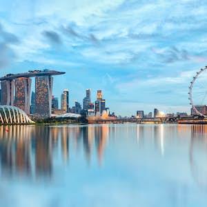 Singapore stop over Marina Bay