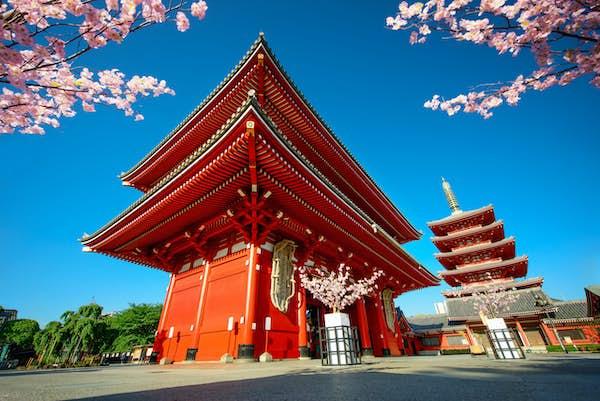 seværdigheder i japan tempel tokyo