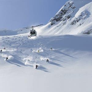 heli-skiing i whistler