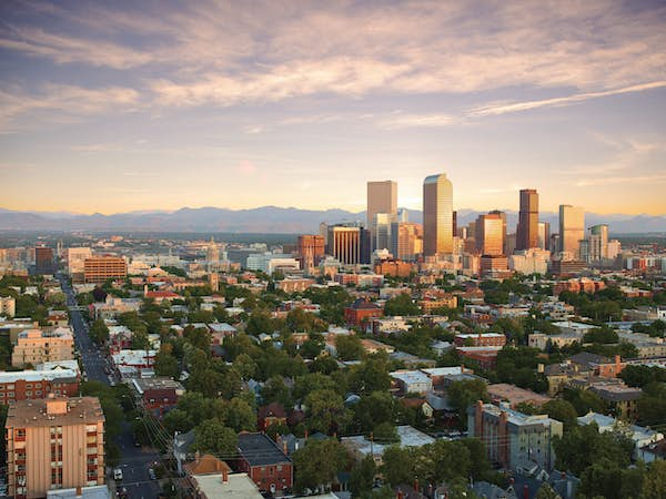 Denver Skyline USA