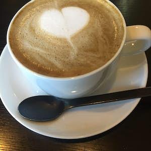 Japansk mad. Hoji-cha latte