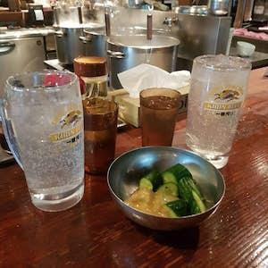 Japansk mad. Pickles.
