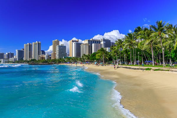 Hawaiis bedste strande