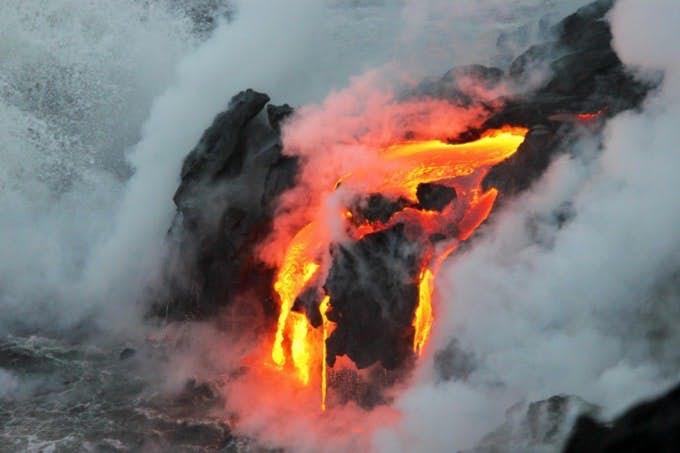 Lava free flow